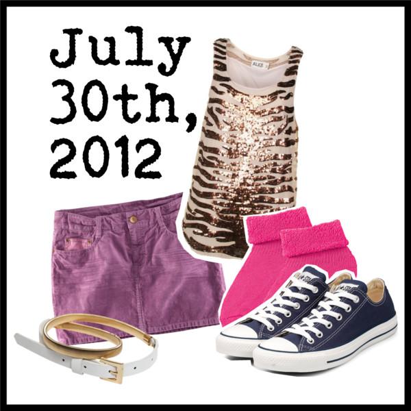 july 30th 2012