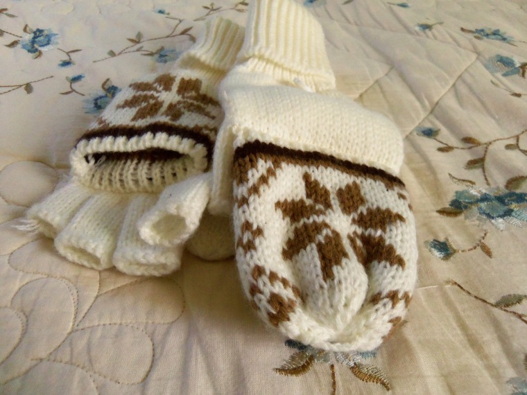 glove/mittens! my favorite things ever!