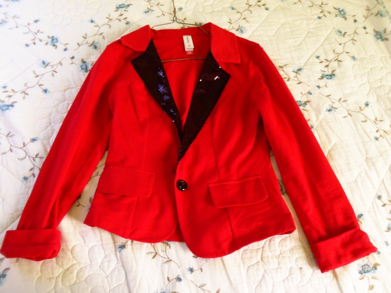 the blazer my mother got me for christmas