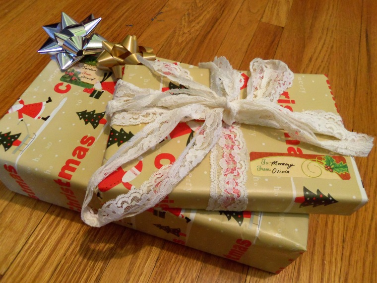 I had an intense present wrapping session.