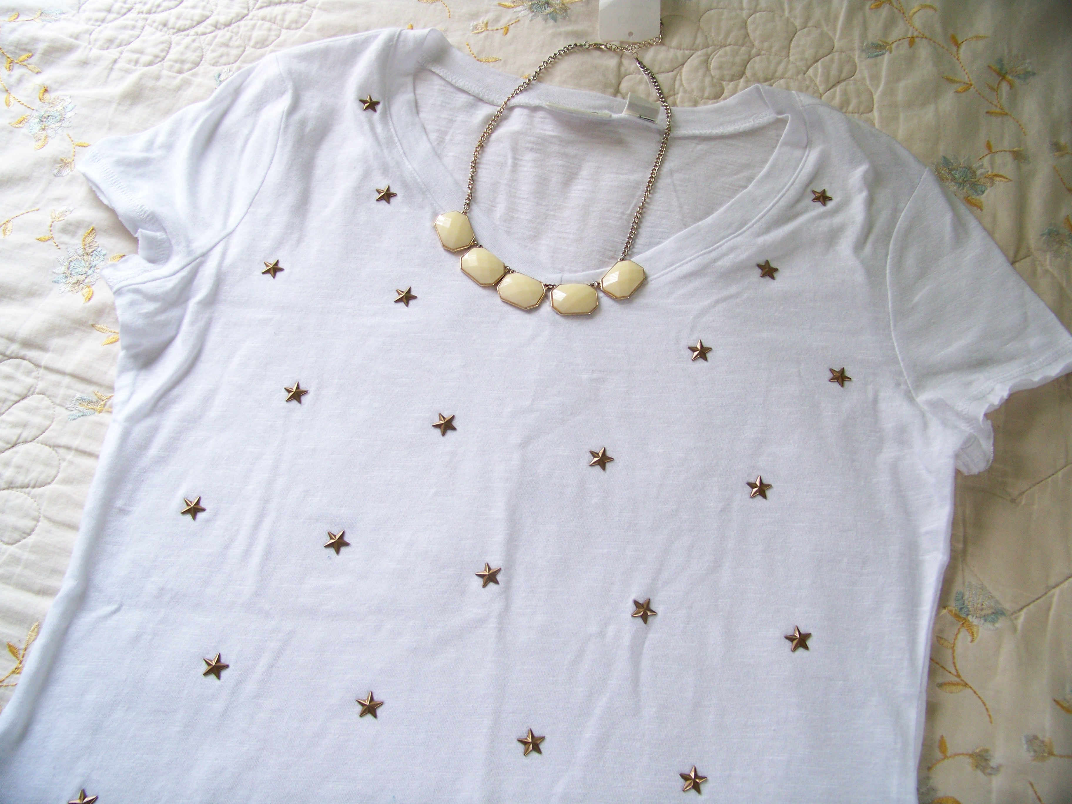 Cato Fashions Clearance Sale Studded T Shirt CATO Fashions